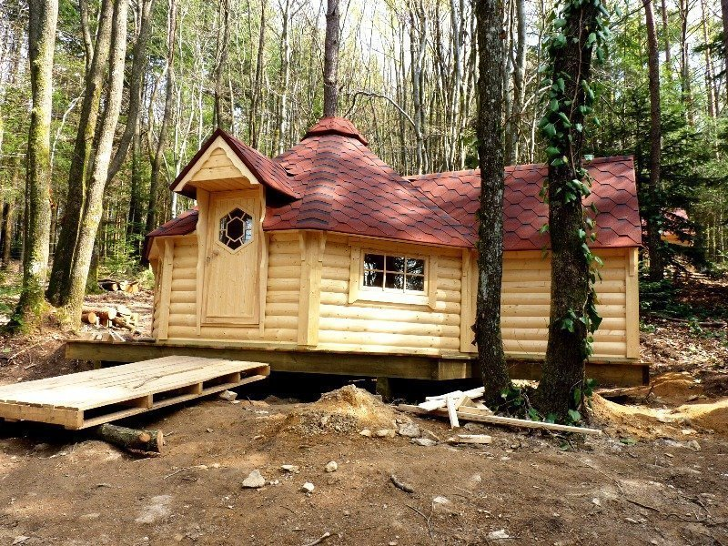 10m Grill Cabin With Extension Bbq Log Cabin From Carr Bank