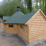 17m Grill Cabin with extension