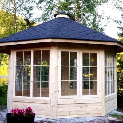 10m Garden Pavilion from Carr Bank Garden Centre