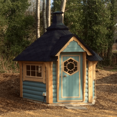 Baby Barbecue Cabin