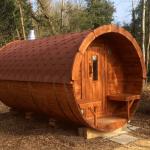 Carr Bank Barrel Sauna