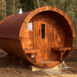 Carr Bank 4m Pine Barrel Sauna