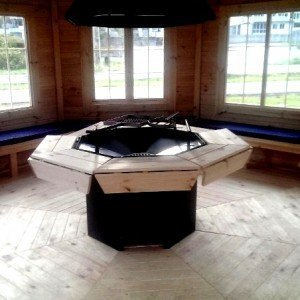 Grill Pavilion Interior