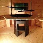 4.5m Grill Cabin Interior