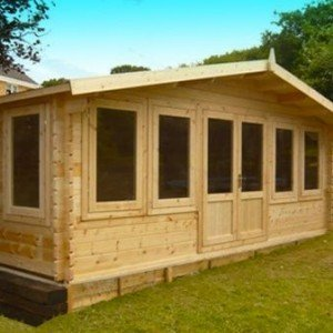 Crossley Mason 5.4m Wide Log Cabin