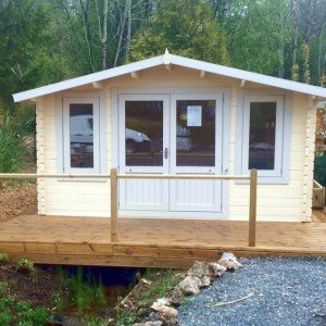 Crossley 4.2m x 3m Norwood 46mm Log Cabin