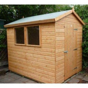 Crossley Garden Buildings Brecon Apex garden shed