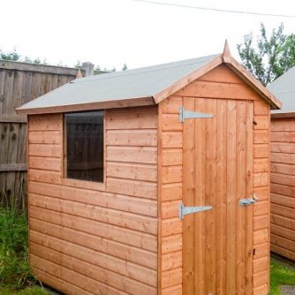 Monmouth Apex Shed from Carr Bank Garden Centre