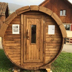 1.7m Barrel Sauna