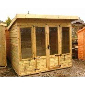 Helston pressure treated summerhouse