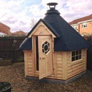 7m Grill Cabin fitted in Blyth