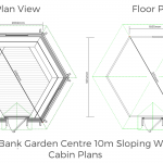 10m Sloping Cabin Plans 2018