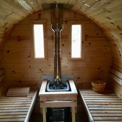 Harvia M3 Log Burning Sauna Heater