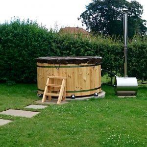 Carr Bank Garden Centre Wooden Hot Tub