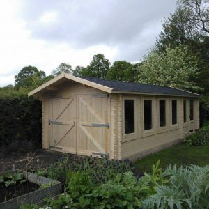 Crossley Custom Built Garden Workshop Log Cabin