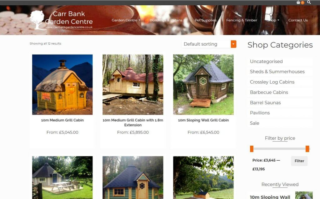 Browse our Barbecue Cabin Shop