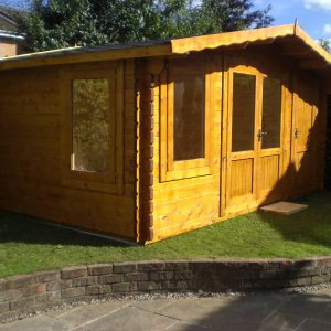 Crossley Kentmere Log Cabin 4.8m Wide