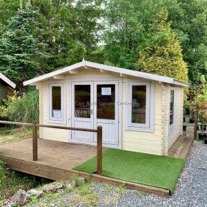 Norwood 4.2m x 3m Ex Display Log Cabin