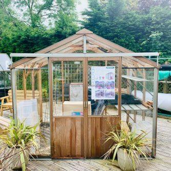 Alton Cedar Greenhouse 8 x 8