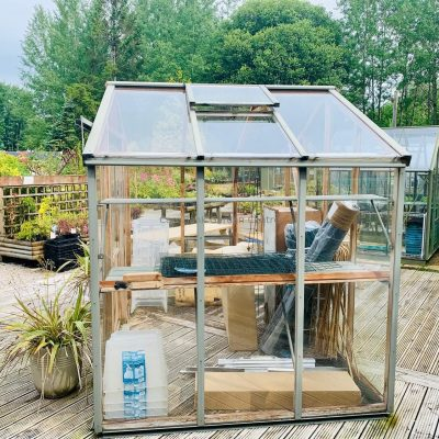 Evolution Eight Cedar Greenhouse 8'7″ x 6'5″ EX DISPLAY SALE