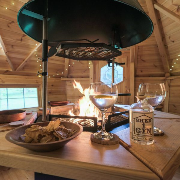 The Den Scandinavian Barbecue Cabin on Airbnb